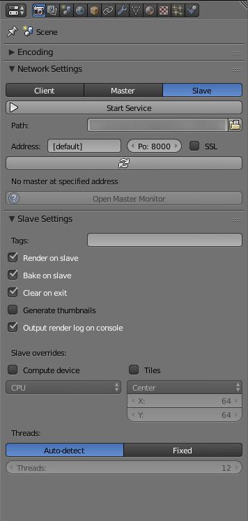 Slave Mode Options